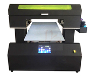 RU No Tax LY A45 PRO Automatic Cylinder Flatbed UV Printer 50 30cm Size With Rotary
