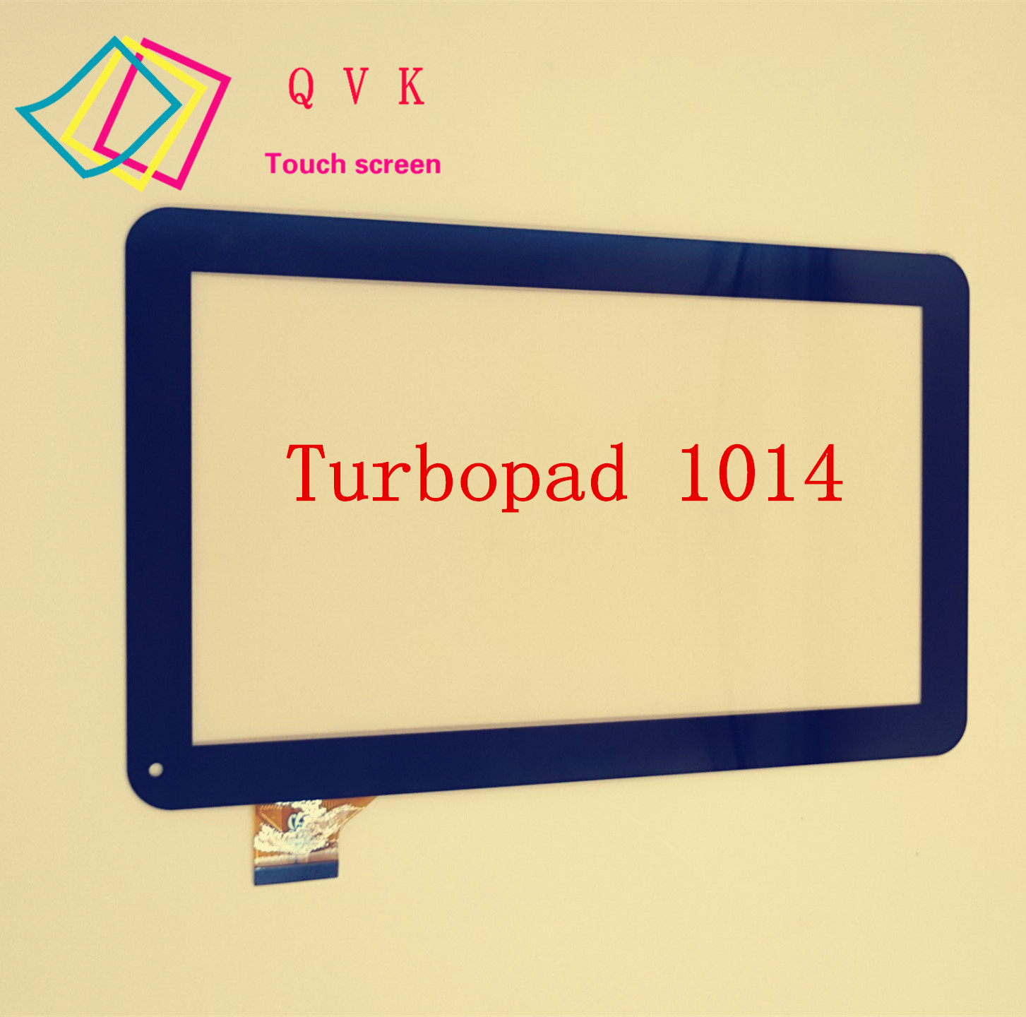 Black YCF0464-A 10.1 inch For Turbopad 1014 Tablet PC Touch screen panel Digitizer Glass Sensor replacement