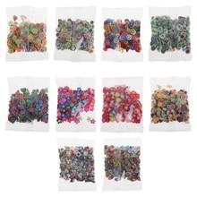 280 шт./пакет 10 видов стилей полимерной глины игрушки DIY клейкие Аксессуары декор Желейная масса рука резинка искусств Craft игрушки