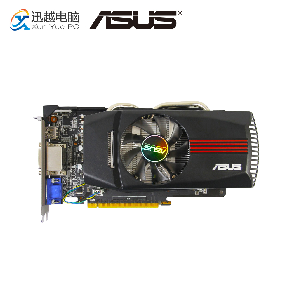 ASUS GTX 650-DC-1GD5 Original Graphics Cards GTX650-DC-1GD5 128 Bit GDDR5 Video Card VGA 2*DVI HDMI For Nvidia geforce GTX 650 цена