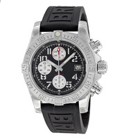 Элитный бренд Новый кварцевые хронограф мужские часы секундомер сапфировое стекло Японский часы черный резиновые спортивные часы Limited AAA