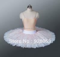 NOVO!! Ballet metade tutu saia para as mulheres, Adulto profissionais vestidos de bailarina, Classical ballet tutu para meninas, Dancewear AT0062