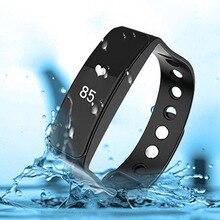 Waterproof Fitness Tracker Pedometer Smart Watch Bluetooth Activity Tracker Sports Bracelet Smart Wristwatch Couple Watch