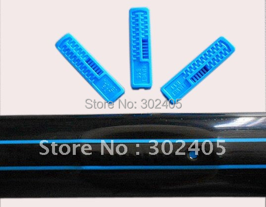 Drip irrigation line. Flat drip line. Drip tape. 0.20mm thickness +30CM SPACE. Free Shipping