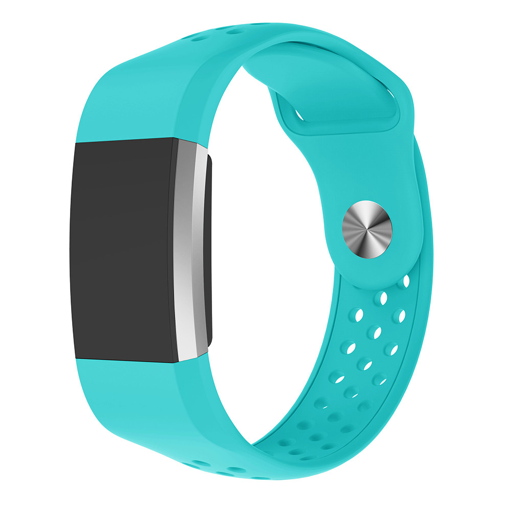 Silicone wristband For Fitbit Charge 2 frontier classic band replacement wrist bracelet For Fitbit Charge 2 smart watch bracelet in Watchbands from Watches