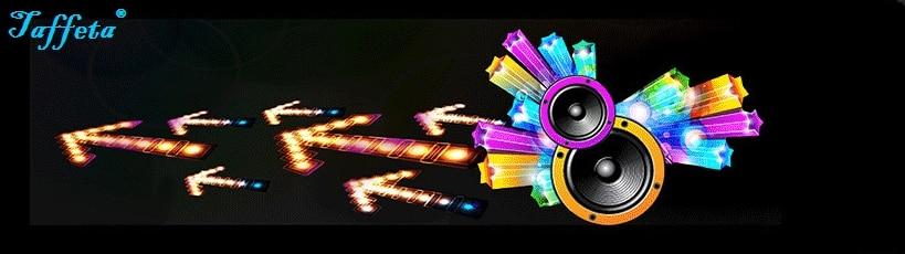 90*25cm Horn Flash Car Sticker Music Rhythm Light LED EL Sheet Lamp Sound Music Activated Equalizer
