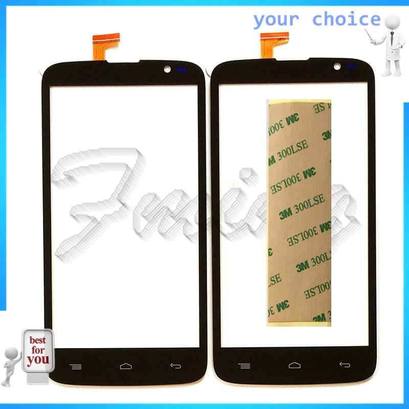 RUBINZHI Phone Touchscreen Touch Screen sensor Lens For Infinix HOT X507 Touch Panel Digitizer Front Glass with tape