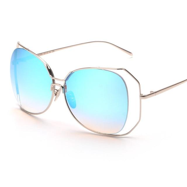Big Exaggeration Metal Wire Frame Eyewear 2016 New Glasses Retor ...