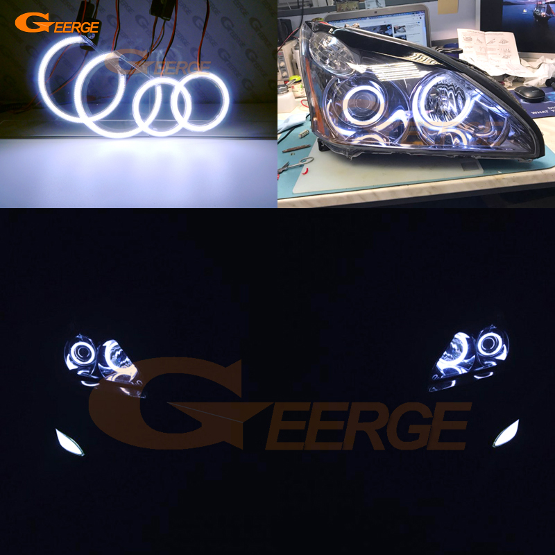 For LEXUS RX300 RX330 RX350 RX400h 2004 2005 2006 2007 2008 PROJECTOR HEADLIGHT Excellent Ultra bright