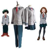 Boku keine Hero Wissenschaft AsuiTsuyu Yaoyorozu Momo Schuluniform Mein Hero Wissenschaft OCHACO URARAKA Midoriya Izuku Cosplay Kostüm