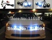 Super Bright 4 Pieces X 1 5W High Power Eagle Eye LED Strobe Flash Knight Rider