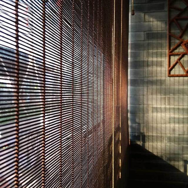 custom afgewerkte bamboe balkon zon rolluiken gordijnen gordijn panel gordijn chinese theehuis. Black Bedroom Furniture Sets. Home Design Ideas