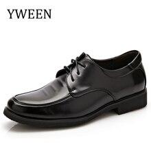 YWEEN Nouvelle Mode formelle hommes robe chaussures de mariage en cuir chaussures hommes appartements de bureau pour les hommes