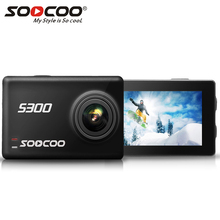 SOOCOO S300 Action Camera 2.35″ touch lcd Hi3559V100 + IMX377 4K 30fps EIS Wifi 12MP CMOS remote external mic sport camera