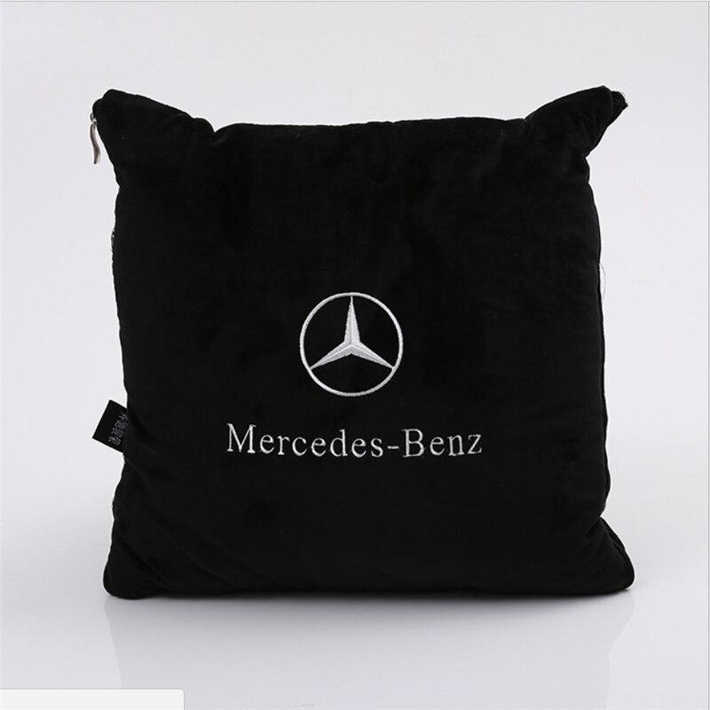 Estilo do carro Do Carro Travesseiro, quilt para o Mercedes classe S Benz W203 W202 W208 W210 C E CLA CLS CLK SLK A200 A180 A260 w220 carro-Styling