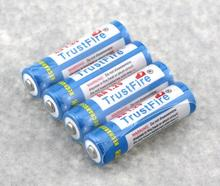 4pcs/lot Trustfire AA 2700mAh NI-MH 1.2V Rechargeable Battery For Toys MP3 Camera With Package Case Size 5 Batteries