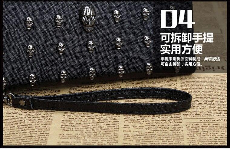 zíper carteira esqueleto bolsa titular do cartão