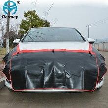 Dermay 3 шт. крыло автомобиля покрывает защиты Краски работы Магнитная крыло, крышка Fender Бонне Краски автосервис инструмент гараж чехлы автомобильные