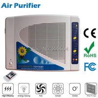 Multi function home air purifier 220V 110V 50W,Infrared remote control operation,Support filter,ionizer and ozone generator