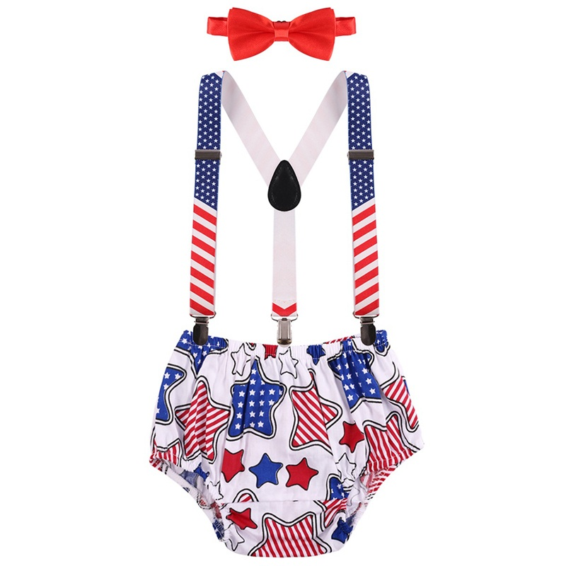 3pcs Set Cute Baby Clothes for Boy and Girl Birthday Party Cake Smash Outfit Summer Baby Photo Shoot Costume Baby Boy Clothes