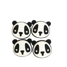 200 pçs/lote Panda Vibração Amortecedor