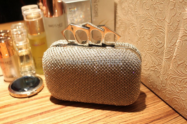 Free shipping lady s glitter silver gold black evening clutch bag fashion  design 82781875811f