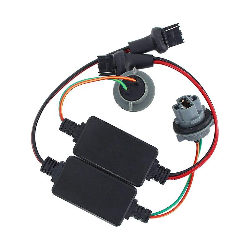 Caubus Resistor T20 7440 7443 W21/5W W21W LED Turn Signal Reverse Brake Lights No Error Flickering Load Decoder Fix Hyper Flash