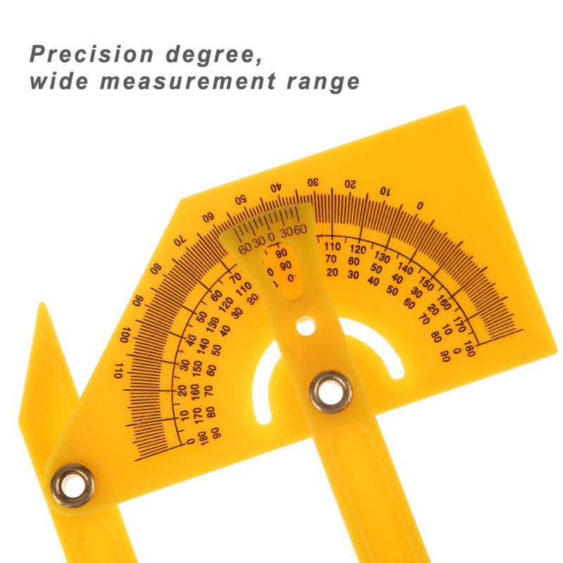 Multi Function Protractor Folding Ruler Angle Finder Measurement 180