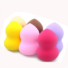 Maxdonas 6 Colors 6 pcs Smooth Cosmetic Puff Dry Wet Use Makeup Foundation Sponge Beauty Face Care Tools Accessories