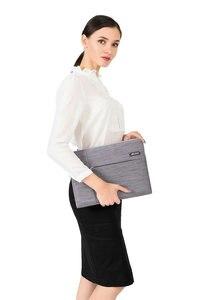 Image 5 - MOSISO gri dizüstü bilgisayar kol çantası Macbook hava 11 13 Pro Retina 13 15 inç için Lenovo/Dell/acer/HP/Xiaomi dizüstü bilgisayar çantaları