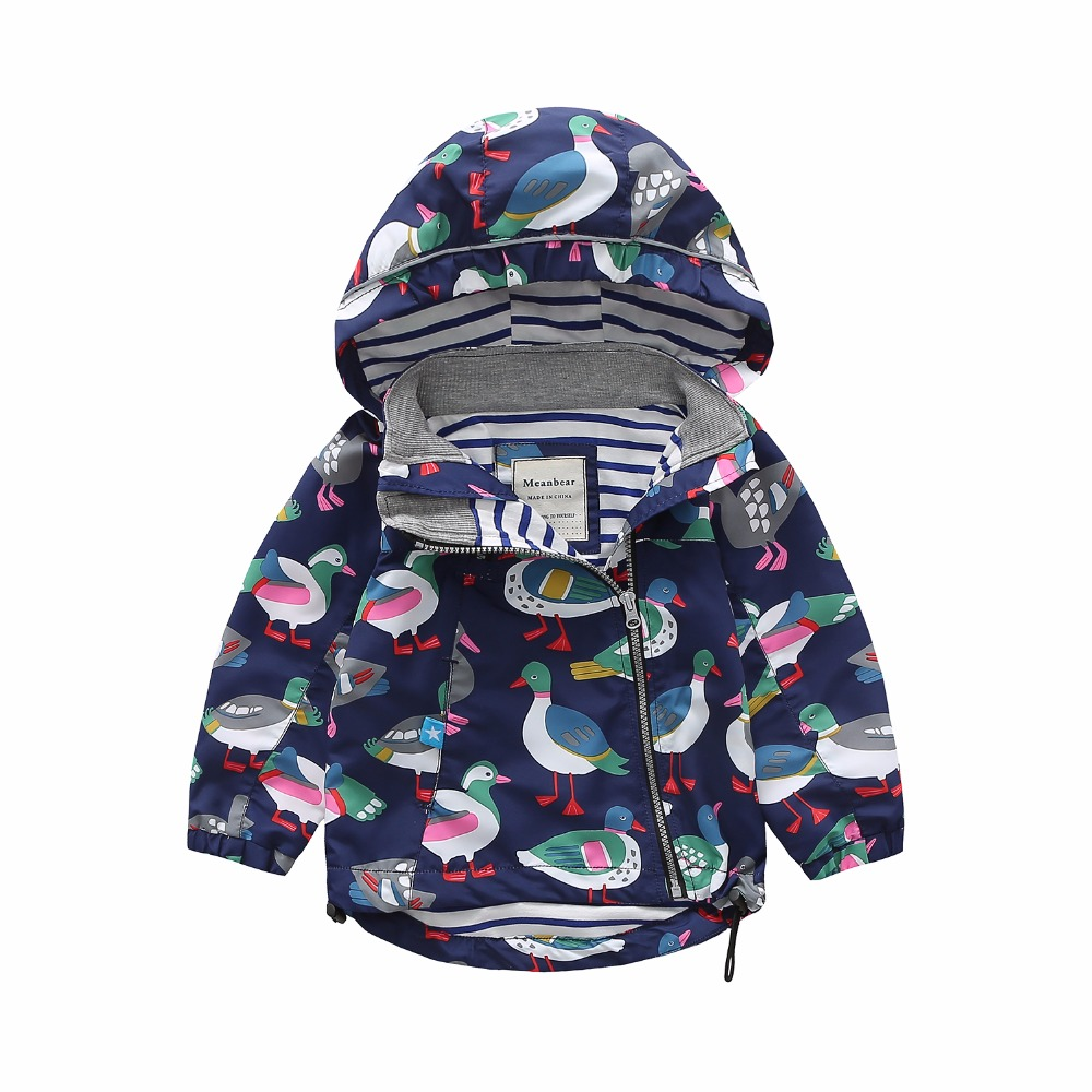 M77 Spring Autumn Fashion Boys Coat Hoodie Child Jacket Girls Tops Windbreaker Cartoon Printing Thin Coat Child Thin Jacket 350w 5 36v dc motor driver brushless controller bldc wide voltage high power three phase motor accessories