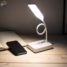 LED Touch On/off Switch 3 Modes Desk Lamp Eye Protection Reading Desk Light Dimmable USB Led Table Lamp цена 2017