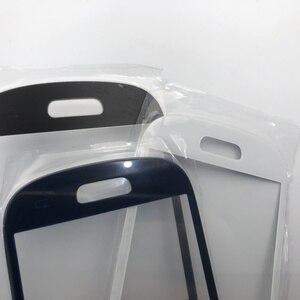 Image 5 - 원래 전체 주택 케이스 중간 프레임 + 뒤 표지 + 유리 렌즈 교체 부품 삼성 갤럭시 s3 미니 i8190 GT i8190