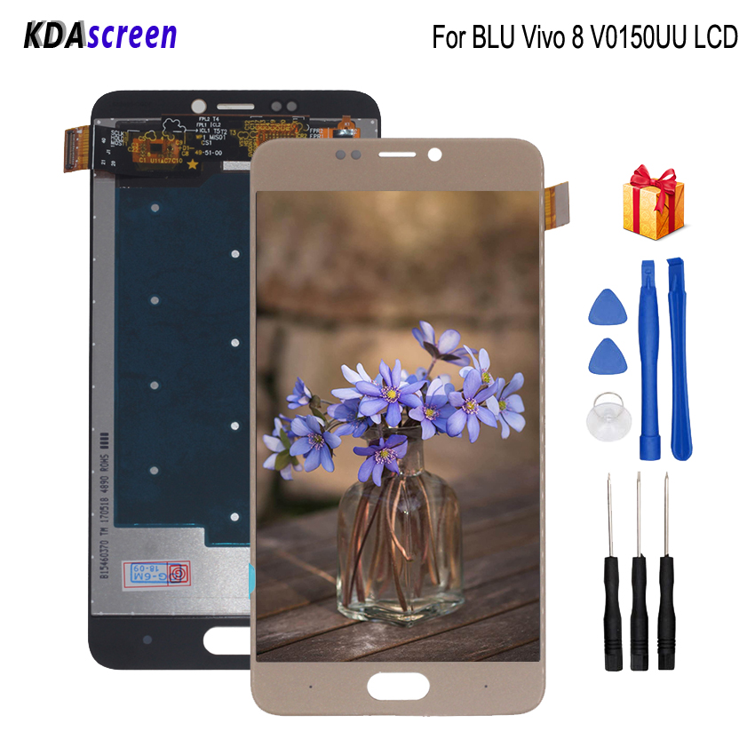 Original For BLU Vivo 8 V0150UU LCD Display Touch Screen Replacement For BLU Vivo 8 V0150UU Screen LCD Display Phone Parts image