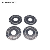 potentiometer knob 10pcs 0-100 WTH118 potentiometer knob scale digital scale can be equipped with WX112 TOPVR (3)