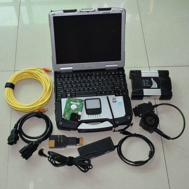 Special Offers Best Quality Icom A+B+C Scanner For BMW Icom NEXT with 2019 Software HDD + CF30 Laptop 4GB 3 years warranty
