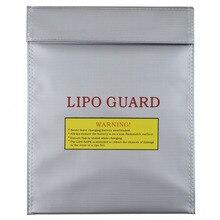 1 pcs 30x23 cm rc lipo li po 배터리 안전 내화 가방 케이스 안전 가드 충전 자루 전세계