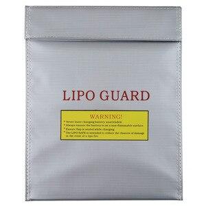 Image 1 - 1 pièces 30x23 cm RC LiPo li po batterie de sécurité ignifuge sac Case de sécurité garde sac de Charge chaud dans le monde entier