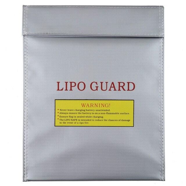 1 pièces 30x23 cm RC LiPo li po batterie de sécurité ignifuge sac Case de sécurité garde sac de Charge chaud dans le monde entier