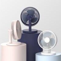 Mini USB Desk Fan Portable Summer Cooling Fan Super Silent Desktop Fan Simple Color Electric Fan For Home Office
