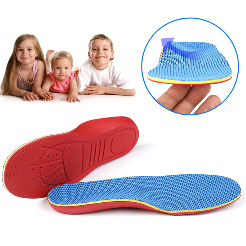 children 3/4 Orthotic Sport Running Insole Insert Shoe Flat Feet Pad Arch Support Cushion Shoe Insoles FM1071