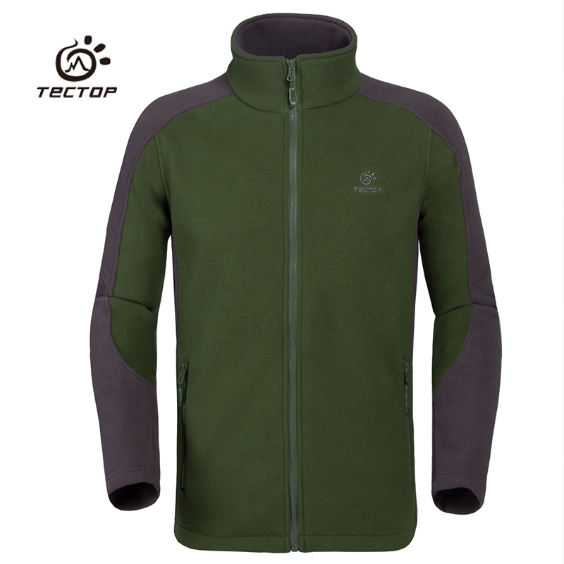 Men Windproof Fleece Jacket Winter Autumn Comfortable Camping Hiking Coats Blue Green Color Jackets S-2XL,3105 - Outdoor Lifes store