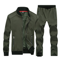 Mens Keep Warm Sportswear Sets Sport Suits Gym Clothes Male Winter Tracksuit Running Jogging Suit Men Zipper Big Size 7XL 8XL