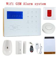 New Arrivel Voice Prompt Wifi Network smart alarm GSM Home Automation Burglar Alarm Wifi  Alarm System