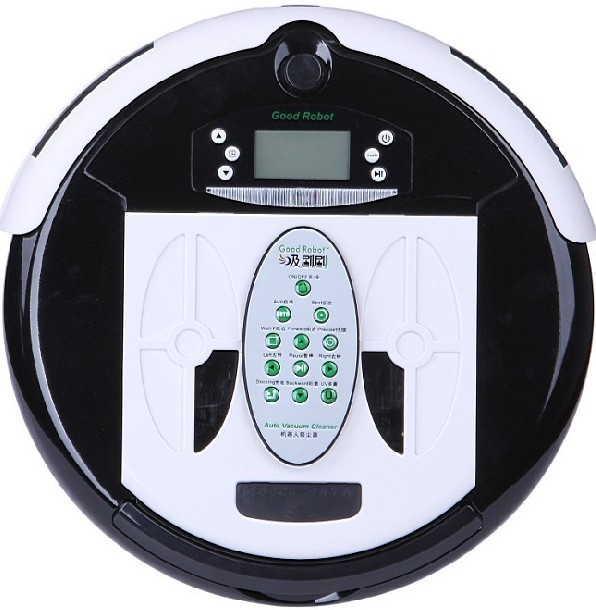 4 In 1 Multifunctional Wet&Dry Robot  Vacuum Cleaner+0.7L Rubblish Box+UV lights+Auto Recharged