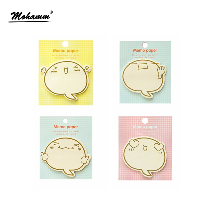 Kawaii Totoro Planner Stickers Sticky Notes Scrapbooking  Memo Pad Sckool Office Supplies Cute Korean Stationery