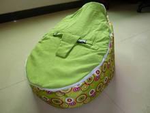 Rosa hotsell leopardos bebê cadeira do saco de feijão com 2 tampas superiores para substituir-moda floral crianças beanbag assento do sofá