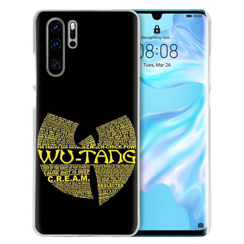 Wu Tang Clan Hip Hop untuk Huawei P20 P30 P40 Lite E P Smart Z Plus 2019 P10 Mate 10 20 Pro Hard Pc Ponsel Cover Fundas Capa
