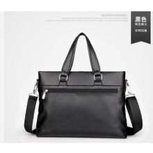XIYUAN Man Vertical Genuine Leather cross body bag Men Messenger Business bags Men's Briefcase Designer Handbags Shoulder Bags