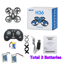 Mini Drone JJRC H36 RC Quadcopter 6-Axis RC Helicopter Headless Quadrocopter Toys For Children Christmas Gift Xmas